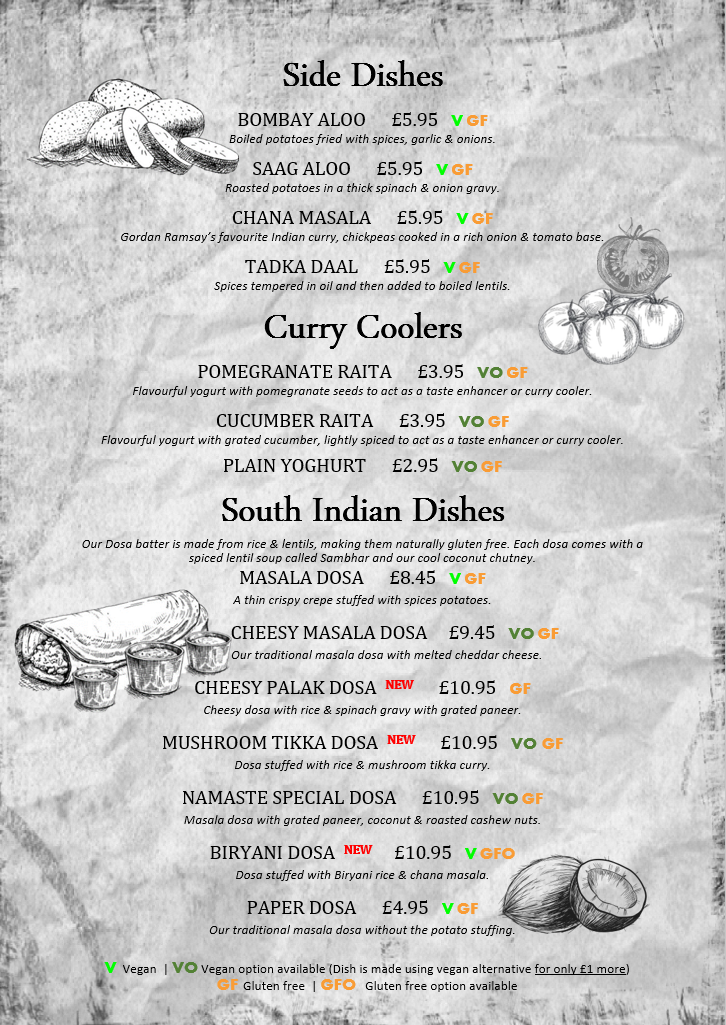 Homepage Indian Restaurant In Norwich Namaste India